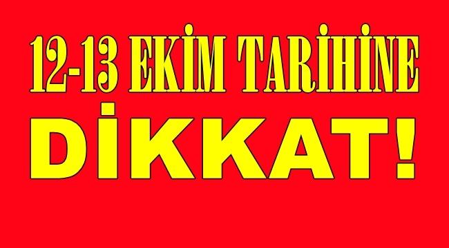 12-13 EKİM GÜNLERİNDE YOĞUN TRAFİK DENETİMİ YAPILACAK.