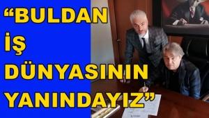 TİCARET ODASI İLE ALBARAKA TÜRK KREDİ PROTOKOLÜ YAPTI.