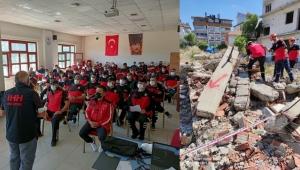 İHH'NIN ARAMA KURTARMA EĞİTİMİNE 65 KİŞİ KATILDI.