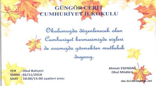 KERMESE DAVETLİSİNİZ