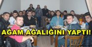 TUĞRUL'DAN BULDAN BELEDİYESPOR'A MORAL TAKVİYESİ..