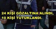 FETÖ-PDY SORUŞTURMASINDA BULDAN'DA 10 KİŞİ TUTUKLANDI.