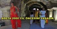 TRİPOLİS'TE TARİH CANLANDI.